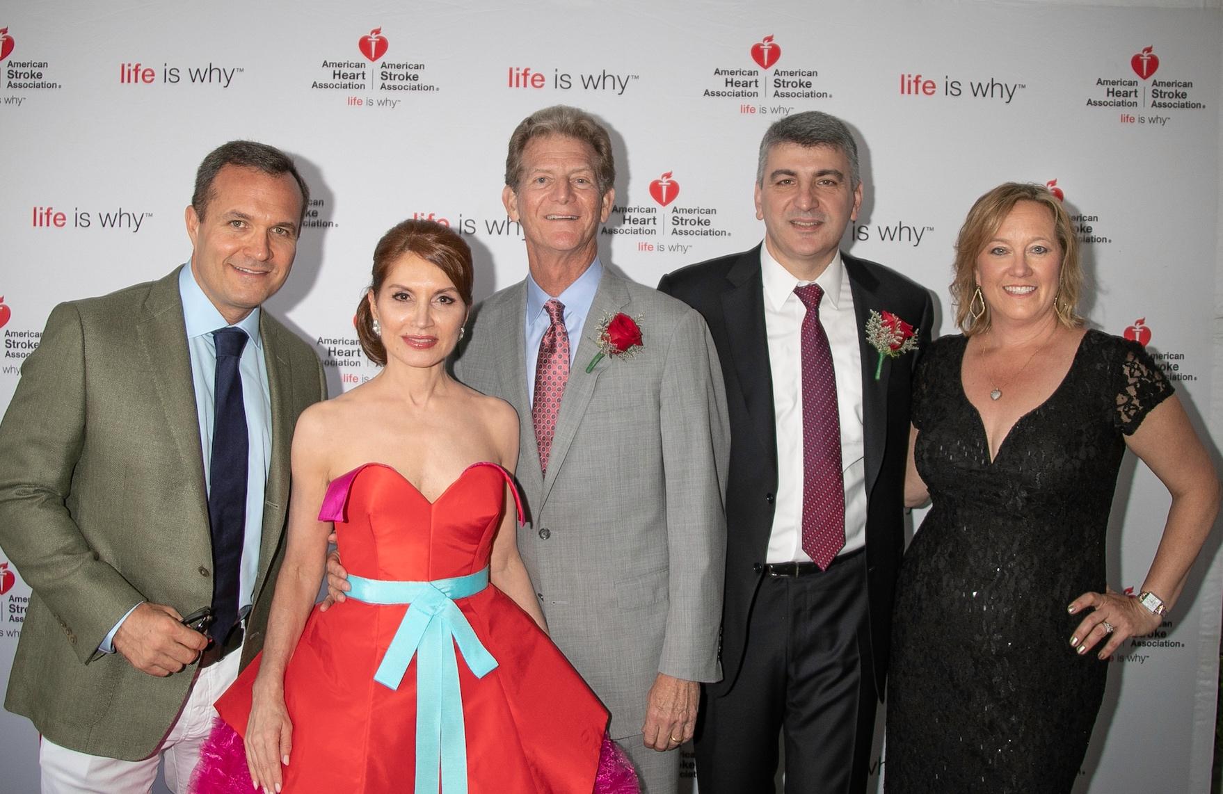 Greg Kelly, Jean Shafirof, Chuck Simonton, M.D, Dr. Apostolos K. Tassiopoulos and Barbara Poliwoda