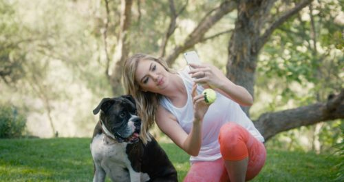 Kate Upton with Harley 2
