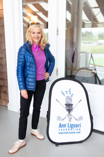 Ann Liguori, Sports Talk Radio/TV Personality, Author, Founder/Pres., Ann Liguori Foundation Charity Golf Classic
