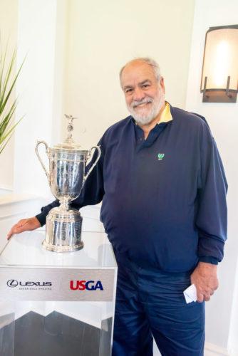 Dennis Suskind, President, Atlantic Golf Club, ALF Charity Golf Classic Volunteer of the Year recipient