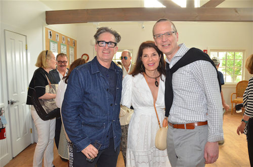 Designer Jack Deamer, Designer Kim Seybert, Executive Director CEO ARF Scott Howe
