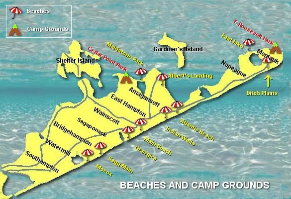 Map Beaches