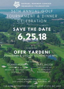 2018 36th Annual Golf Tournament And Dinner Celebration
