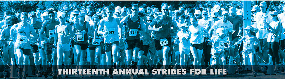 2018 Thirteenth Annual Strides For Life