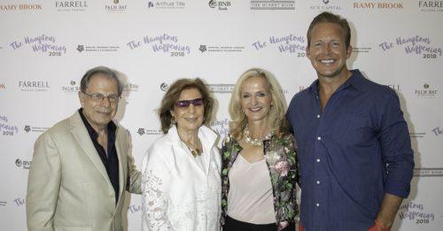 Dr. Samuel Waxman, Marion Waxman, Ann Liguori and Chris Wragge
