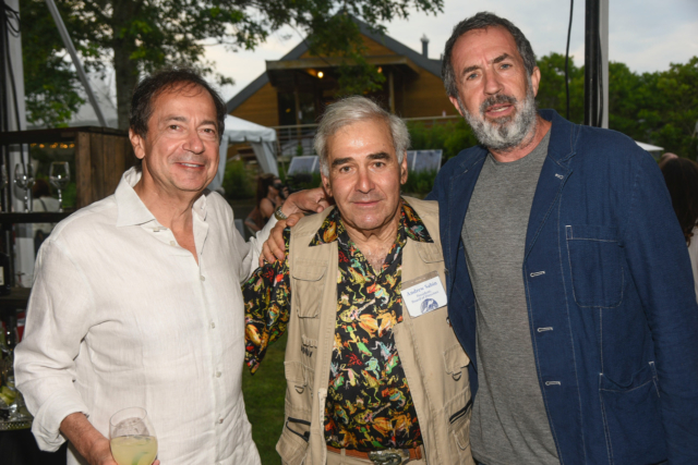 John Paulson, Andy Sabin and Eric Goode