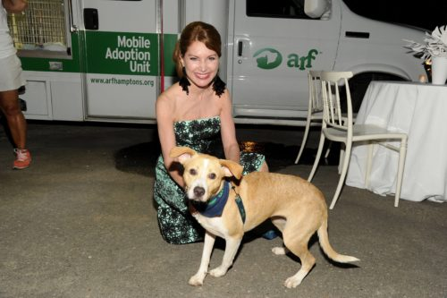 Author, philanthropist and animal advocate Jean Shafiroff at ARF fundraiser out East. Photo courtesy Quintessentially Estates.