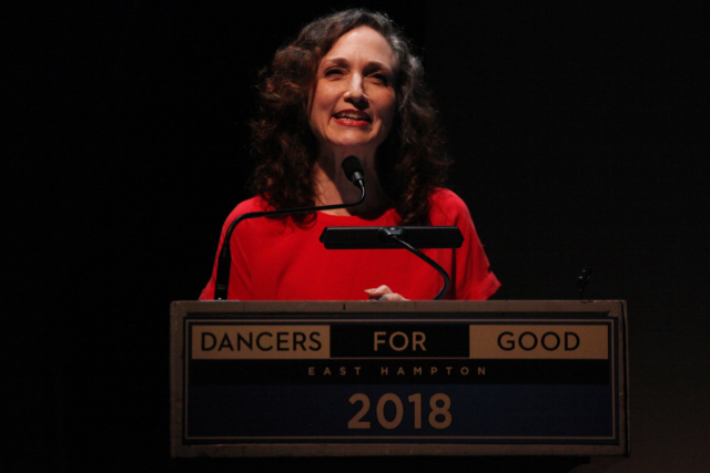 Dance Humanitarian Award recipient Bebe Neuwirth