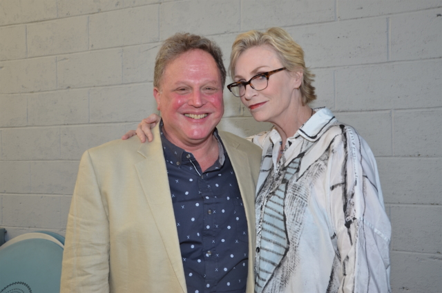 Bruce T. SLoane and Jane Lynch