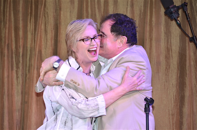 Jane Lynch and RIchard Kind