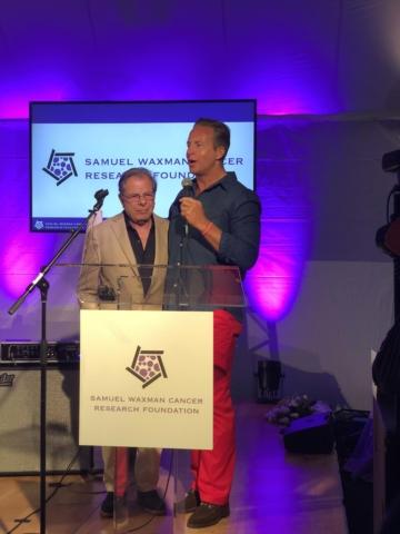 Dr. Samuel Waxman and Chris Wragge - Photo by: Katlean de Monchy