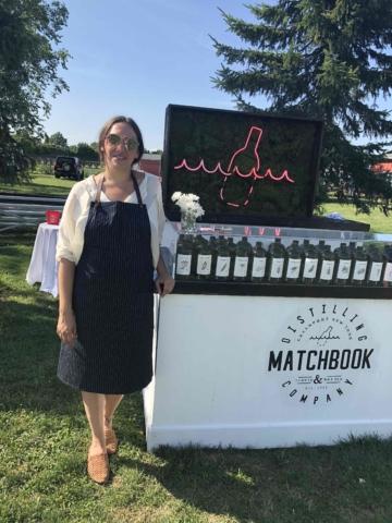 Leslie Merinoff Co-Founder of Matchbook Distilling Co.