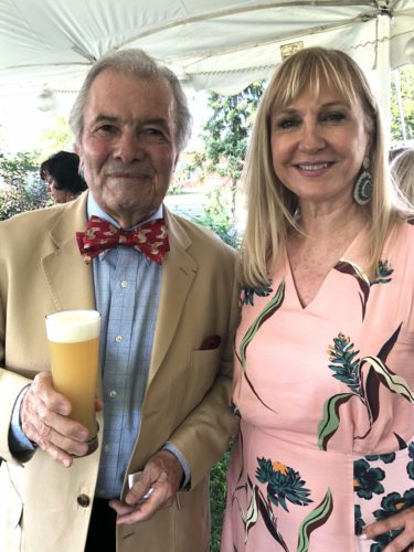 Chef Jacques Pépin and Katlean De Monchy