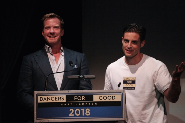 Co-producers of Dancers For Good Eric Gunhus and Michael Apuzzo