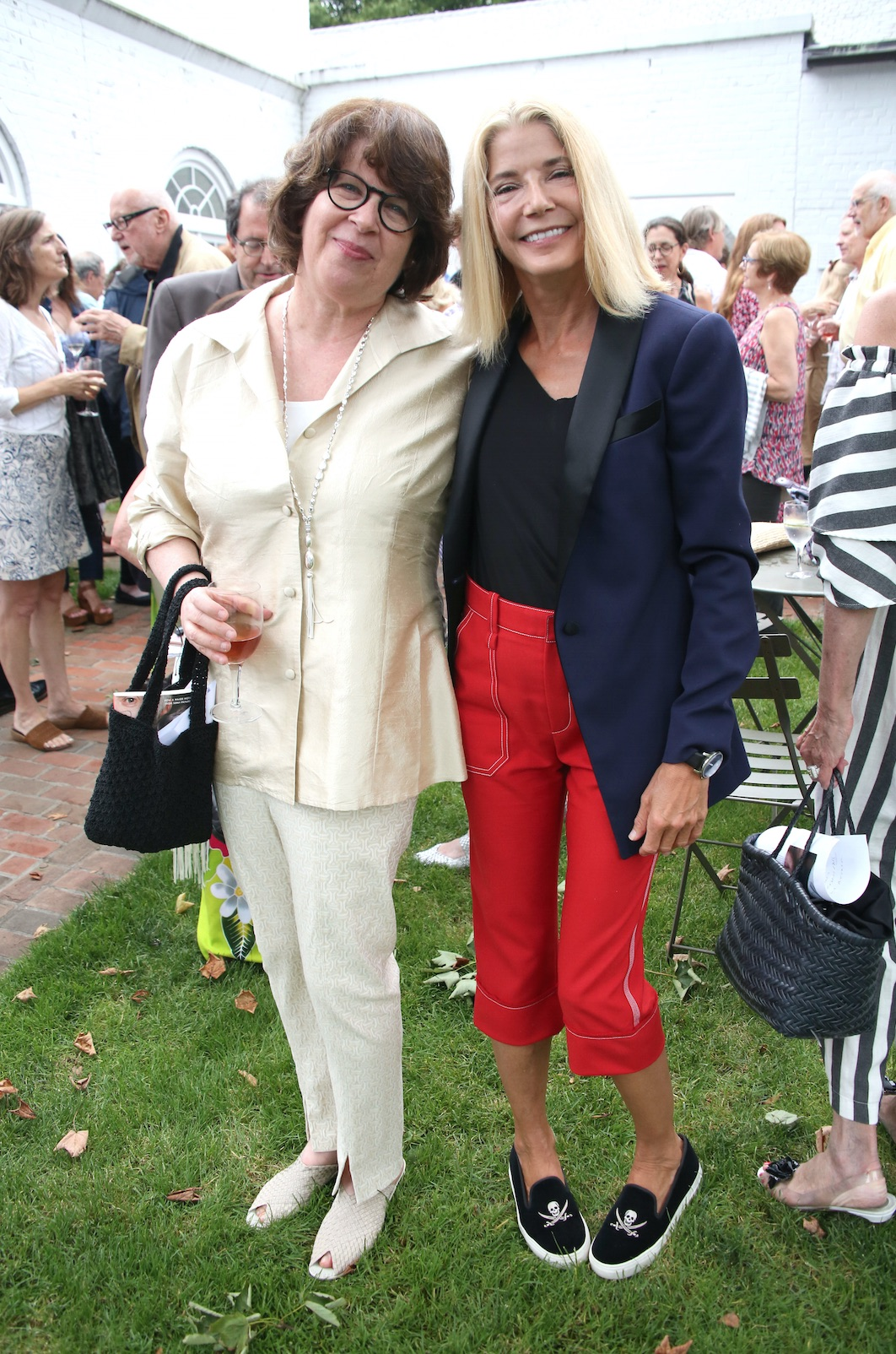 Meg Wolitzer and Candace Bushnell