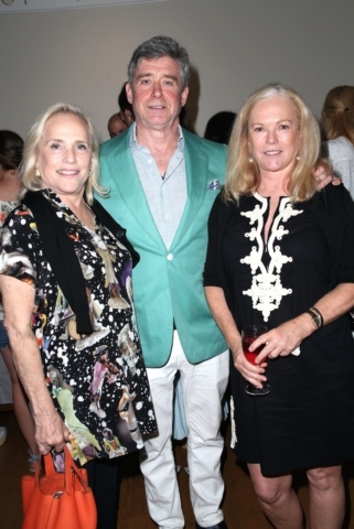 Ann Barrish, Jay McInerney and Anne Hearst McInerney
