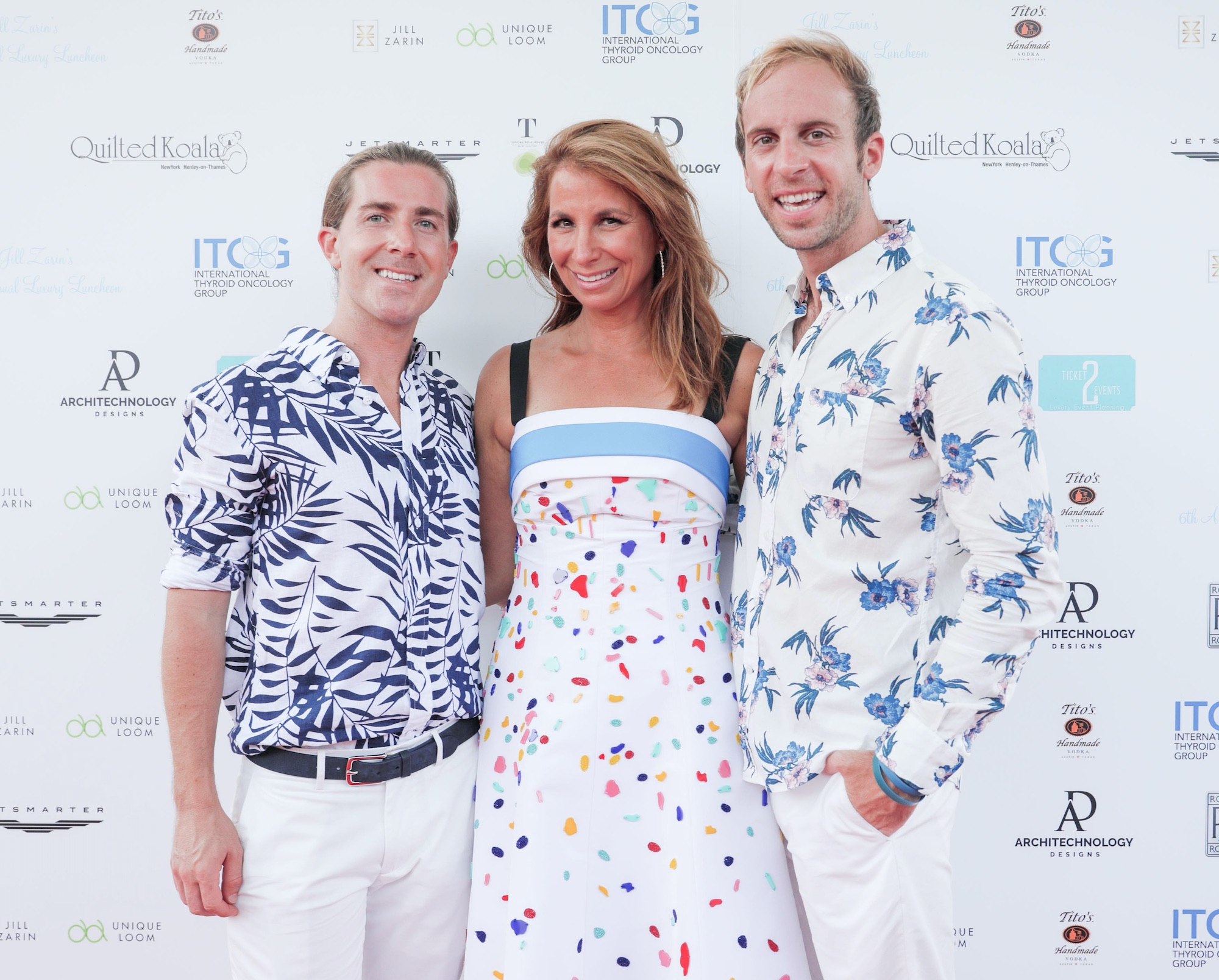 Sean Koski, Jill Zarin and Brian Kelly