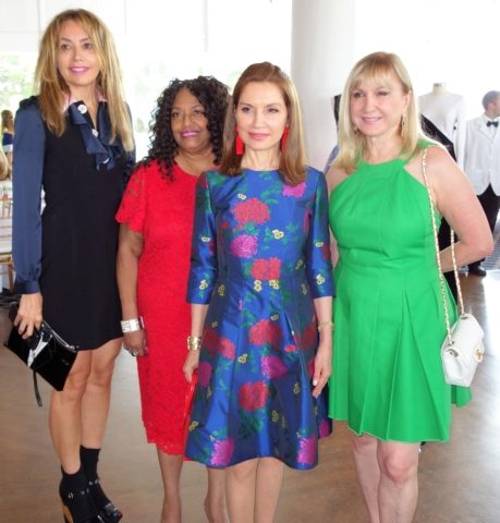 Lieba Nesis, Florence Anthony, Jean Shafiroff and Katlean De Monchy