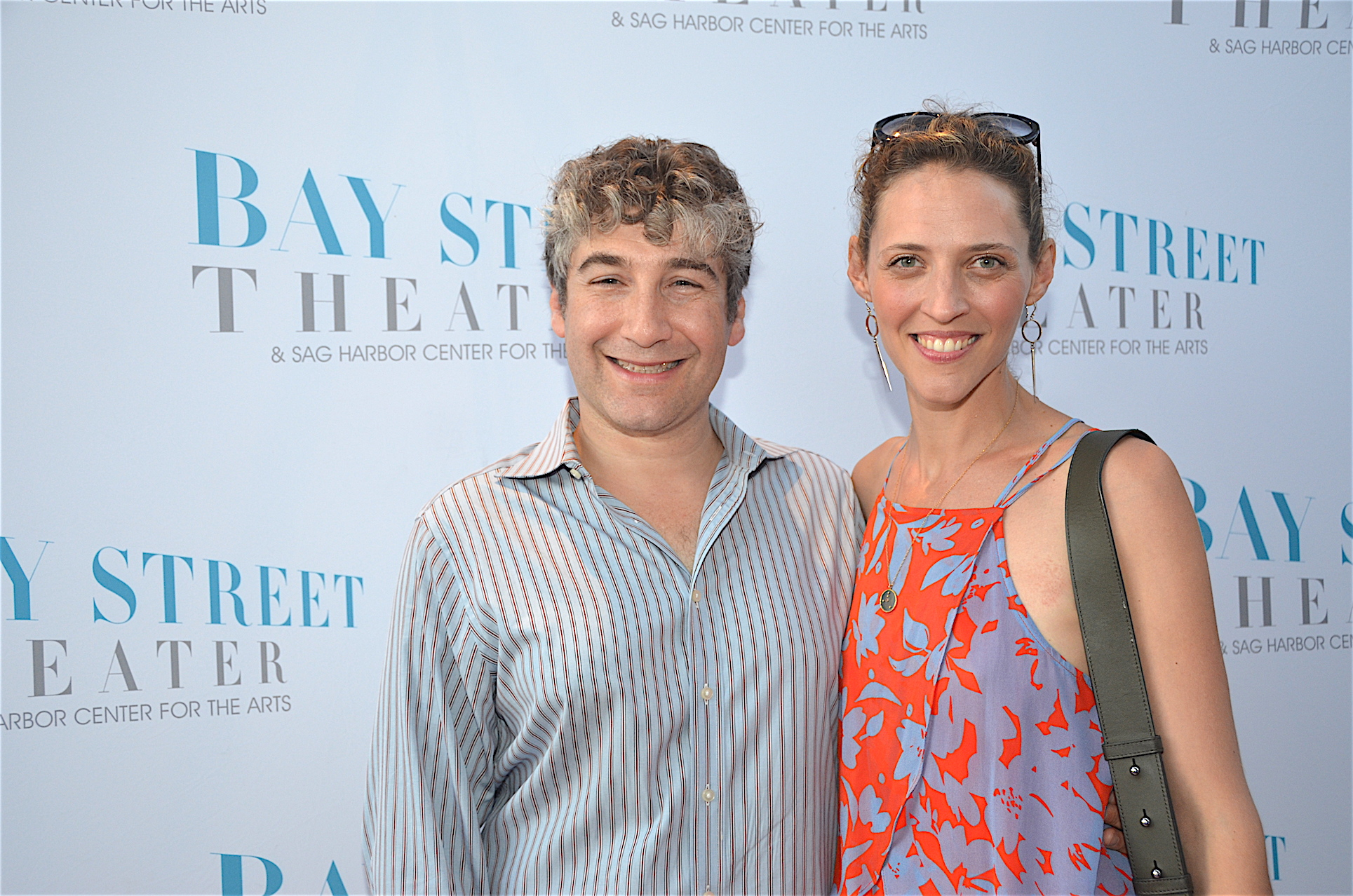 Scott Schwartz and Julia Motyka