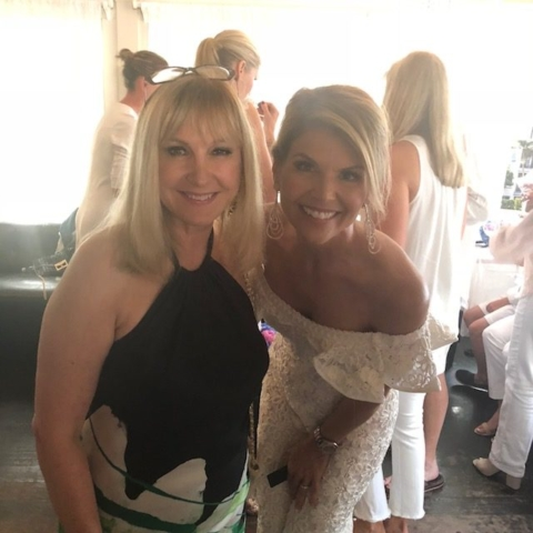 Katlean de Monchy and Lori Loughlin (Fuller House)