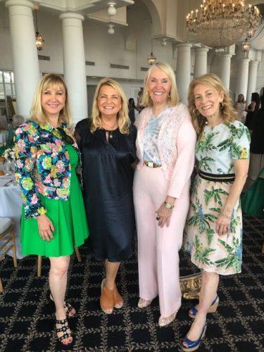 Katlean de Monchy, Debra Halpert, Jewel Norris and Shari Adler