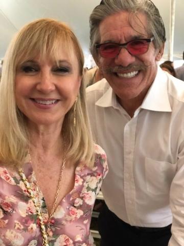 Katlean de Monchy and Geraldo Rivera