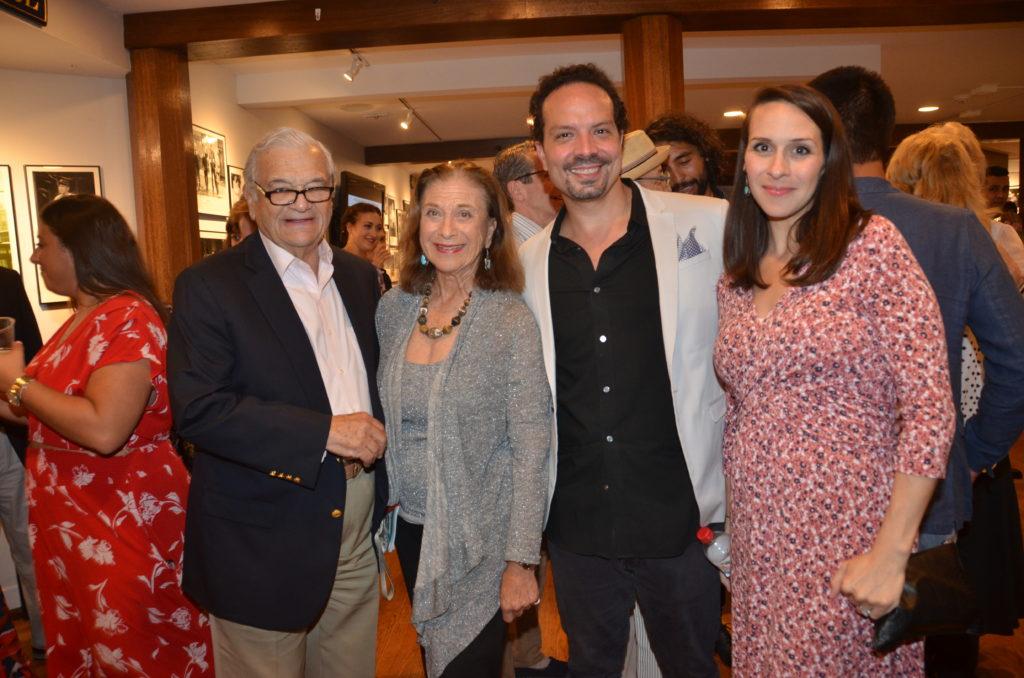 Jerry Cohen, Adrianne Cohen, Marcos Santana and Nova Bergeron