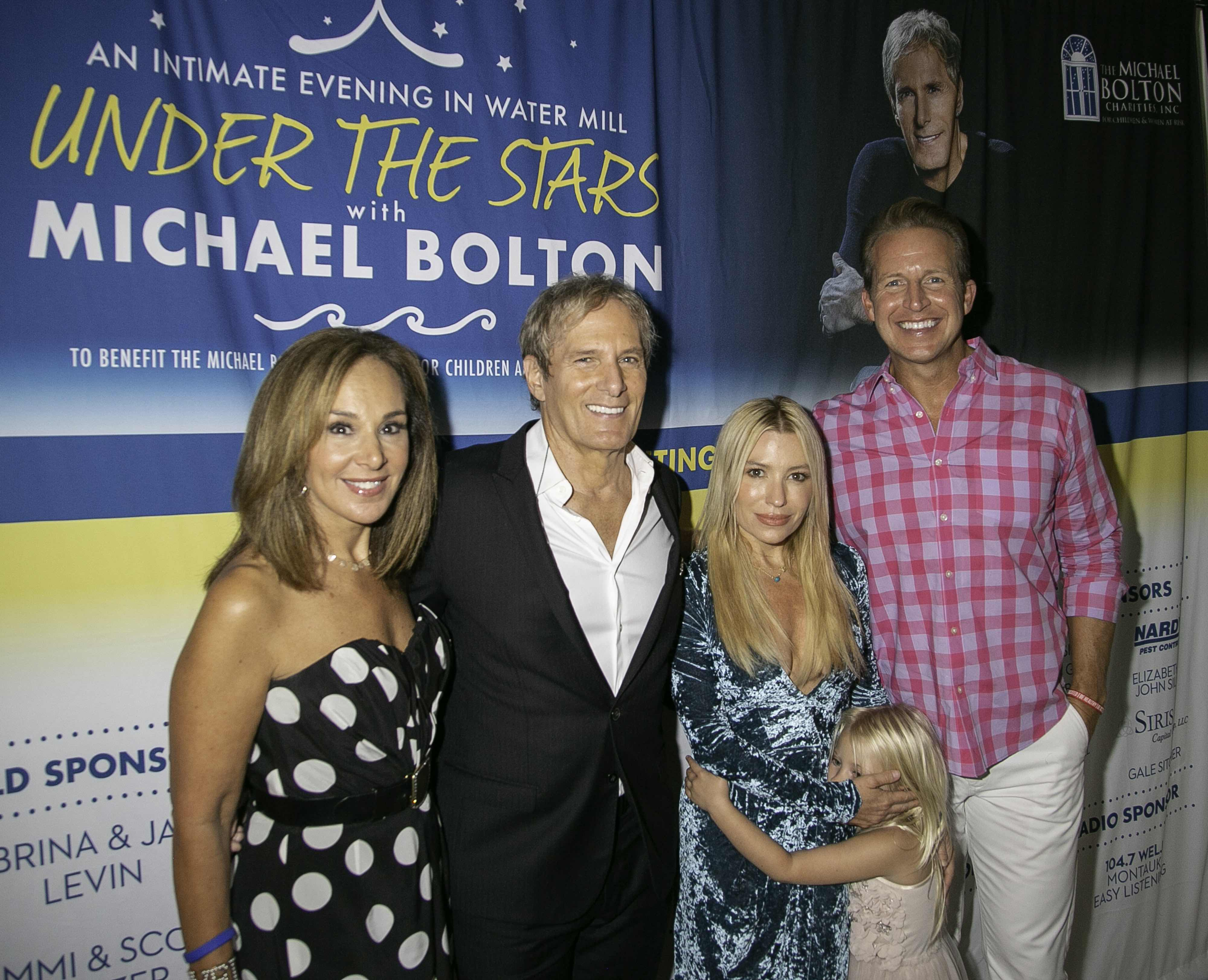 Rosanna Scotto, Michael Bolton and Chris Wraggle