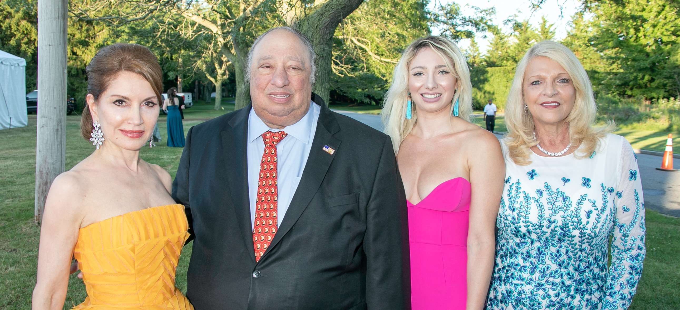 Featured - Jean Shafiroff, John Catsimatidis, Andrea Catsimatidis and Margo Catsimatidis