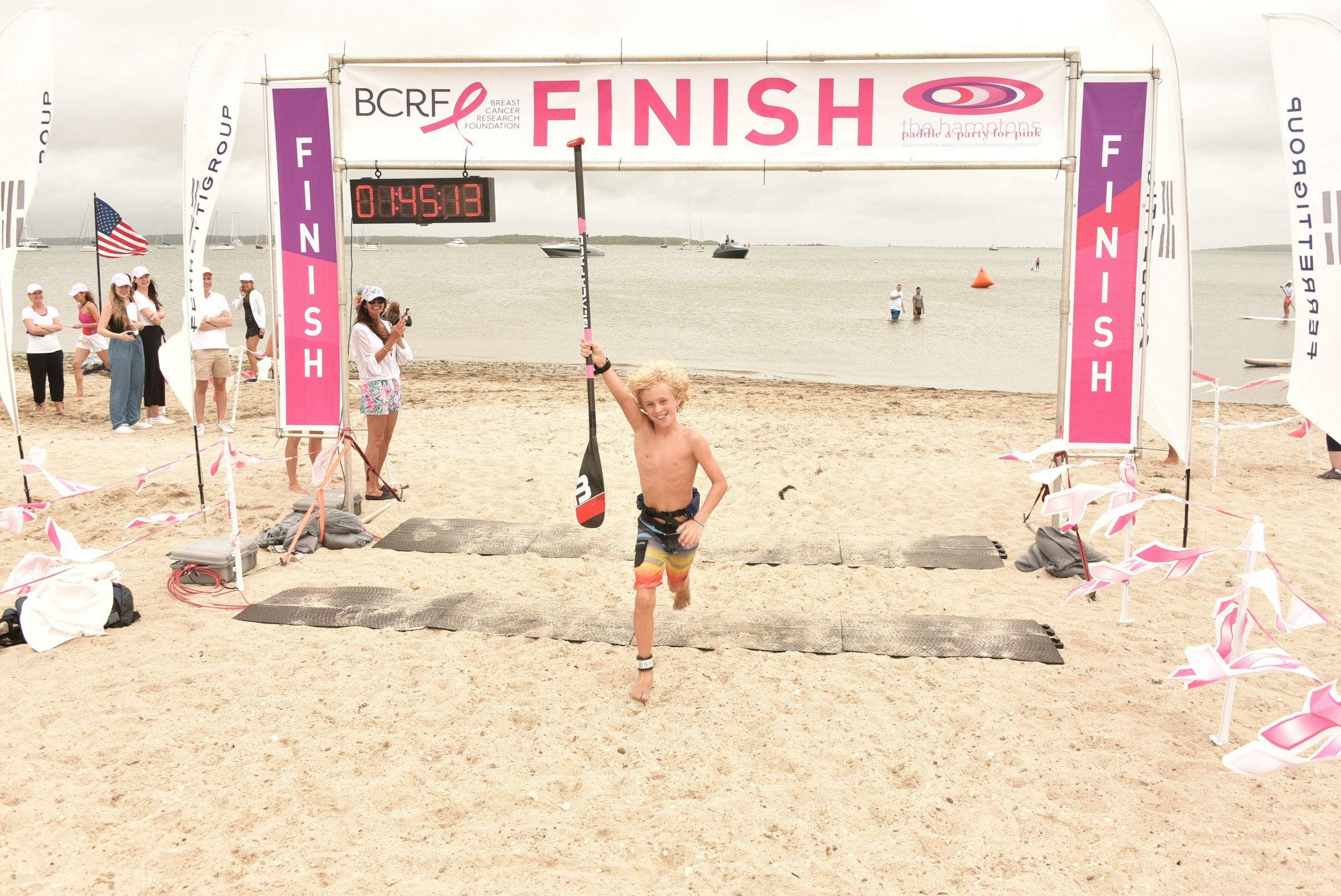 Kids race winner - Photo by: Rob Rich