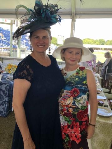 Bonnie Comley and Kathy Ferguson
