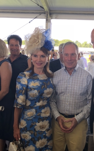 Jean Shafiroff and Mayor Bloomberg