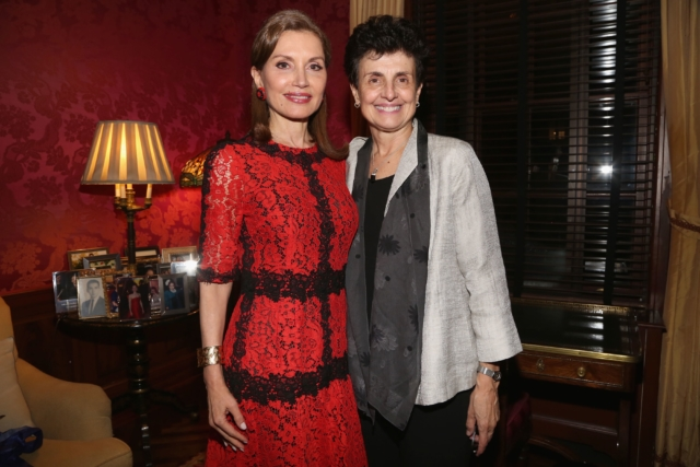 Jean Shafiroff and Ana Oliveira, President and CEO of The New York Women's Foundation - Photo by: Patrick McMullan