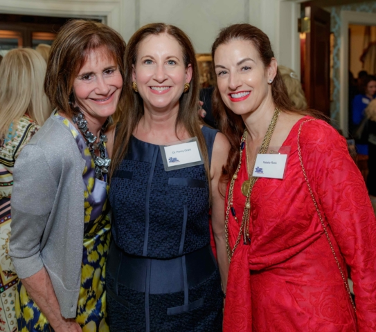 Lee Fryd, Dr. Penny Grant and Natalie Ross