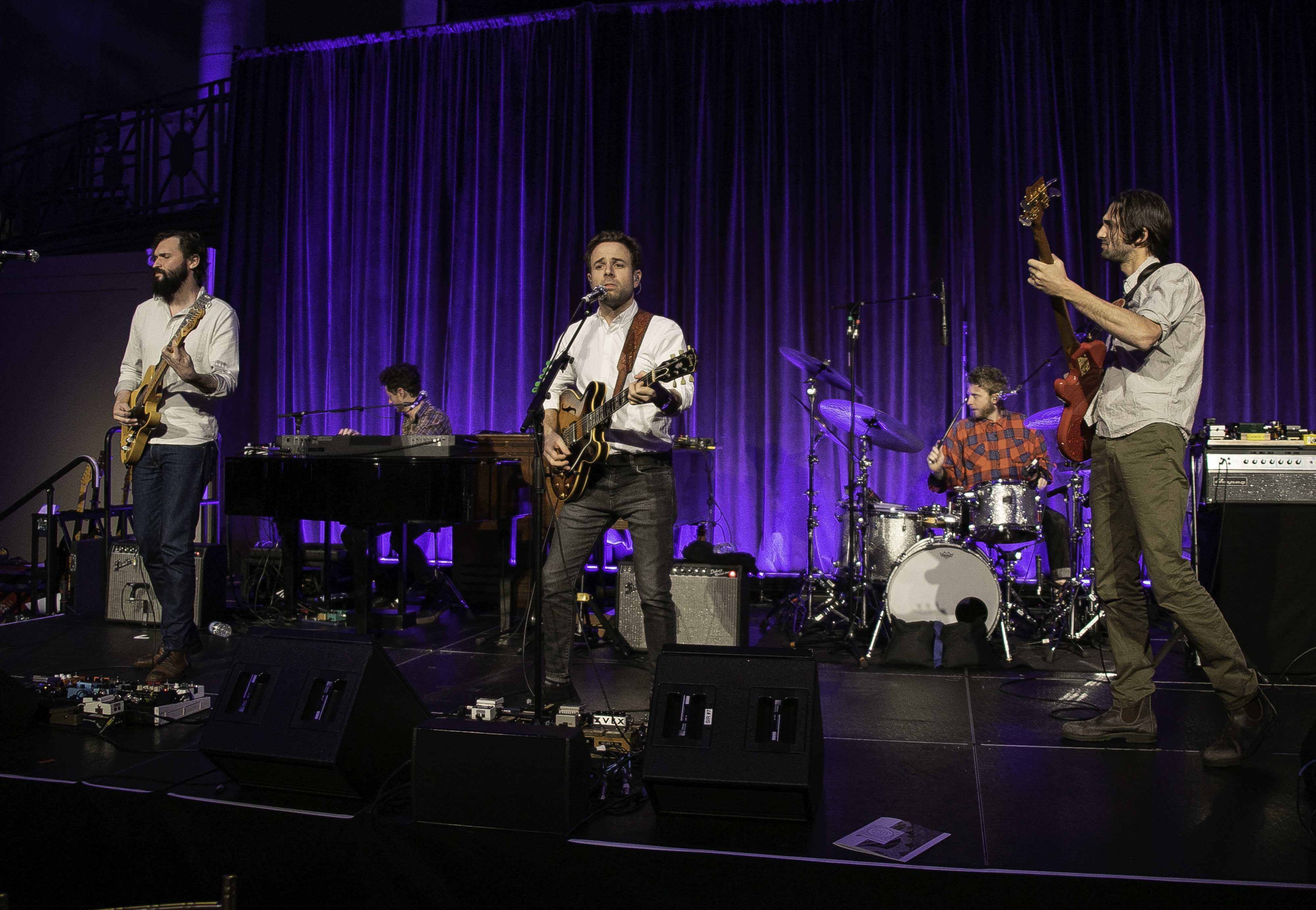 Dawes performs at the 21st Anniversary Collaborating for a Cure Gala