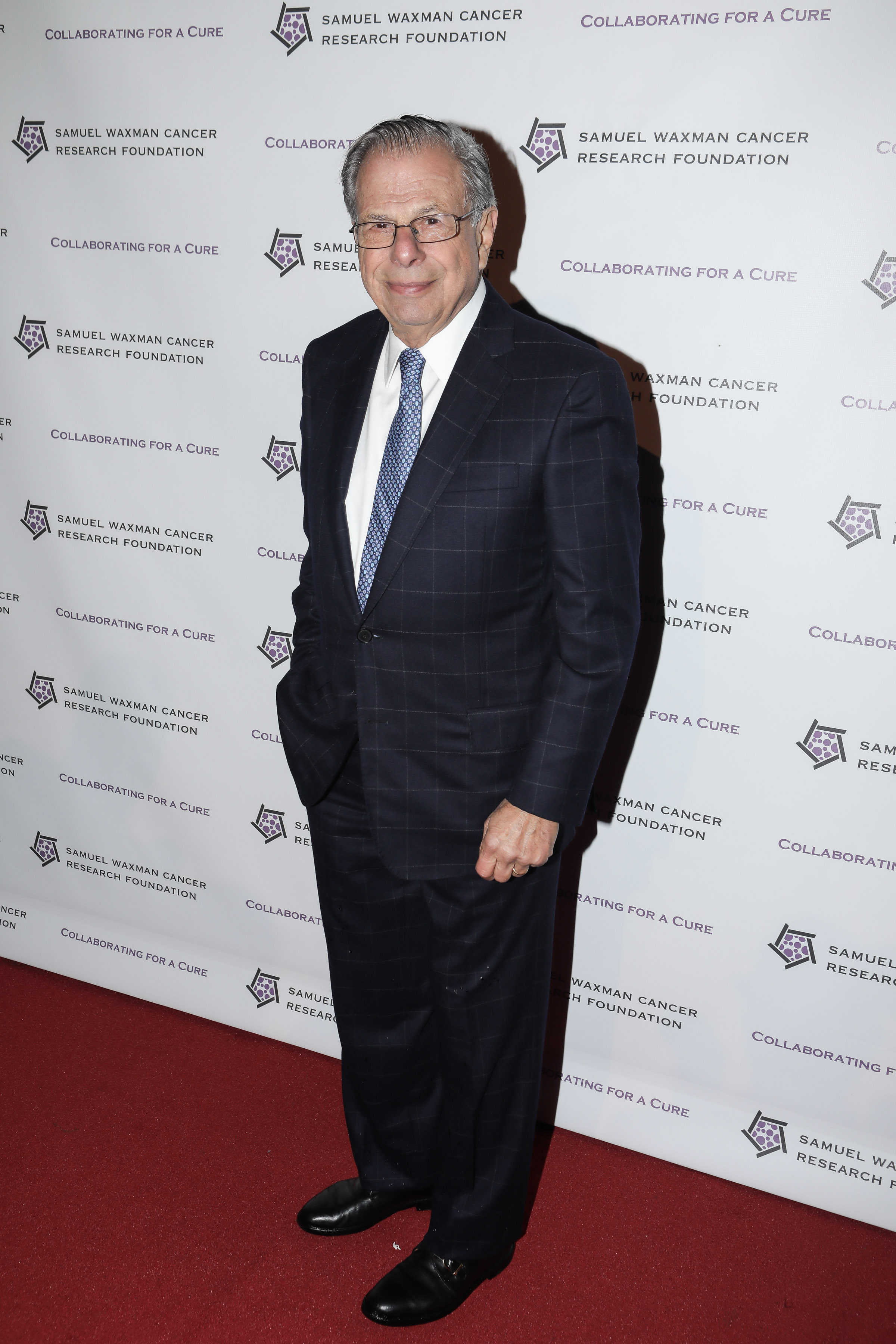 Founder and CEO Dr. Samuel Waxman of Samuel Waxman Cancer Research Foundation at the 21st Anniversary Collaborating for a Cure Gala