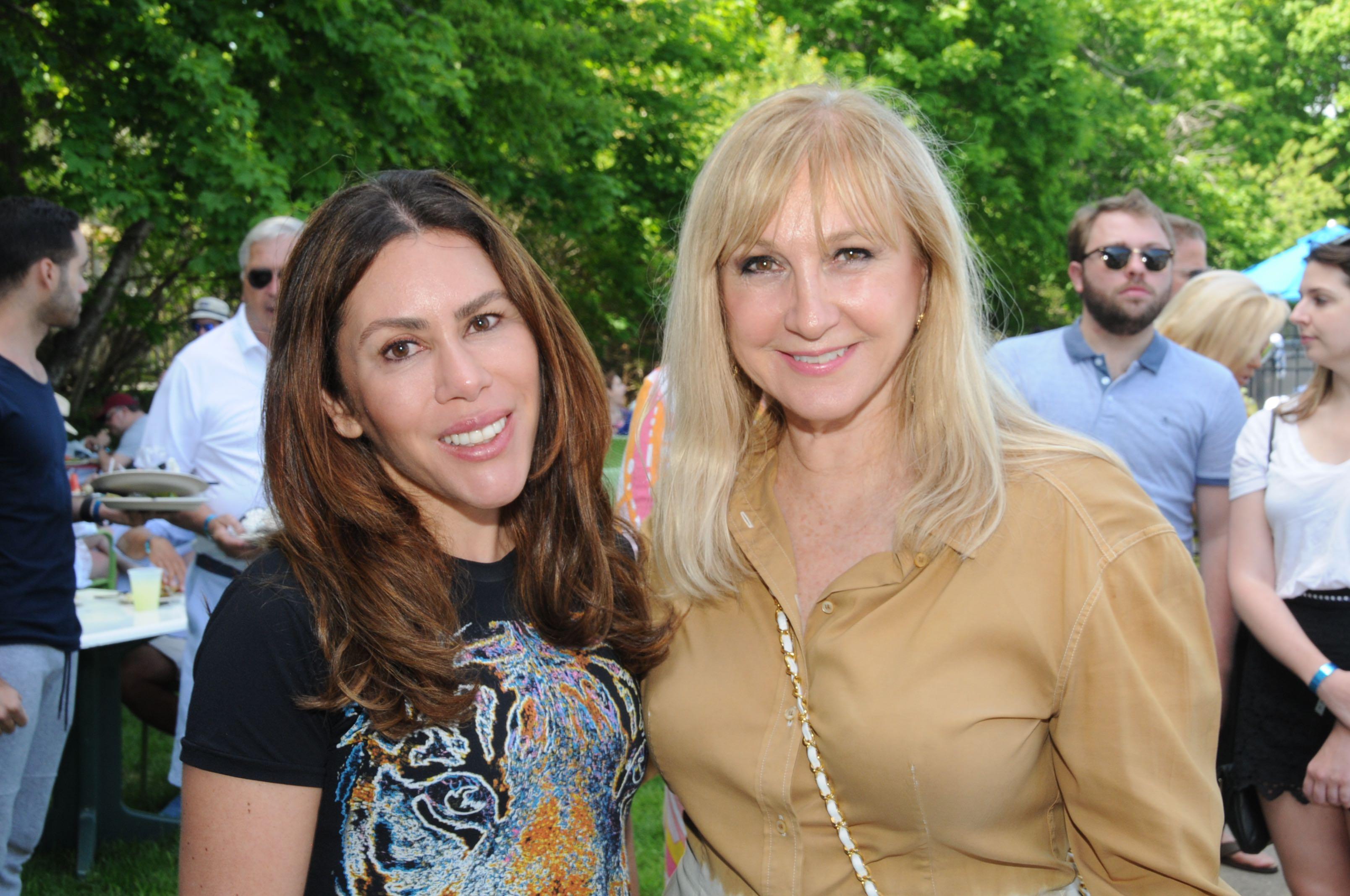 Suleina Arruda and Katlean De Monchy